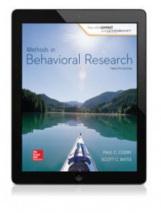SHAUGHNESSY PSYCHOLOGY IN METHODS RESEARCH